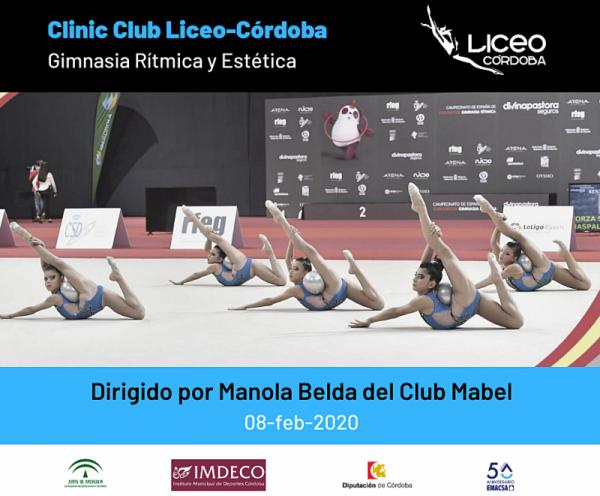 Cartel Clinic Manola Belda 2020
